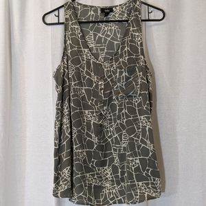 3 For $15 Mossimo Silver Crackle Tank Size Med